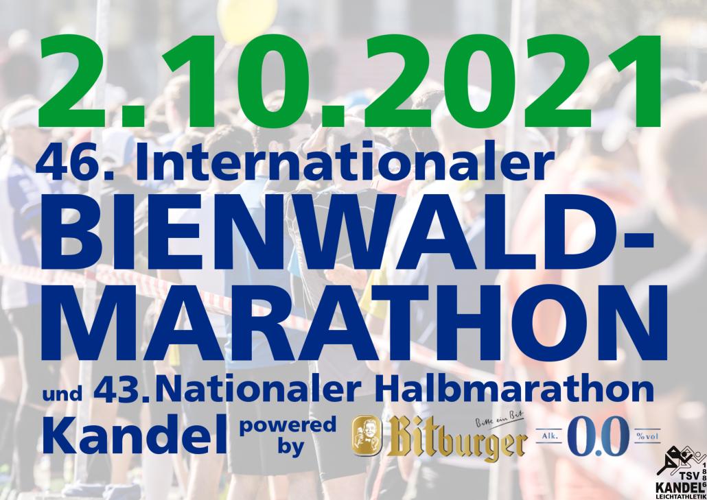 Anmeldung Bienwald-Marathon